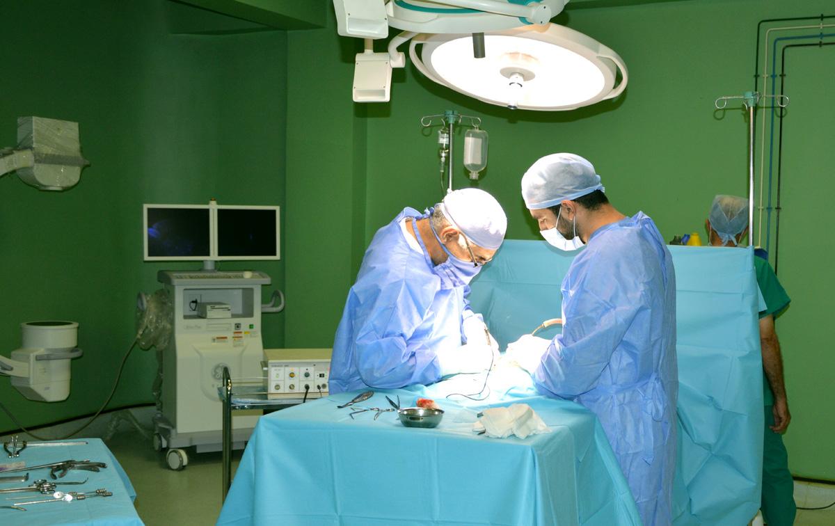 Bloc Opératoire Clinique Slimana